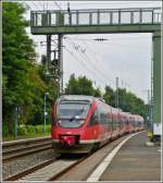 643 double unit to Bonn is entering into the station of Remagen on July 28th, 2012.