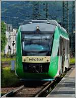 Vectus VT 256 is entering into the main station of Koblenz on June 23rd, 2011.