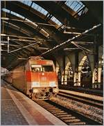 The DB 101 078-4 in Berlin Ostbahnhof.