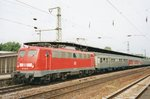DB 110 202 calls at Köln Deutz on 4 June 2005.
