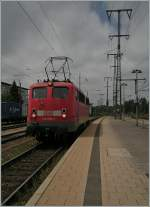 In Singen take the 110 207-7 the IC to Stuttgart. 