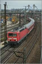 The DB 143 017-2 in Ulm.