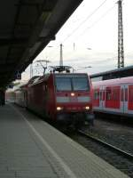 146 001-3 is arrivng in Wanne-Eickel main station on August 20th 2013.