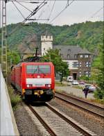 . 189 double header is hauning a freight train through Gondorf on June 20th, 2014.
