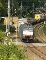 TX Logistik 189 281 with a freighttrain in Elten, Germany 11-09-2013.