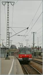 The DB 420 456-6 in Vaihingen. 