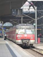 420 331-1 is standing in Frankfurt(Main) central station on August 23rd 2013.