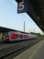 A S2 to Essen main station is standing in Wanne-Eickel main station on August 20th 2013.