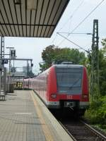 423 891-1 is leaving Frankfurt(Main) South on August 23rd 2013.