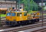 IFO (vehicle maintenance for overhead line equipment) 703 009-1 of the DB Netz AG on 10.07.2012 in Kreuztal.