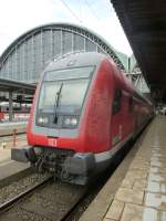 A Dosto is standing in Frankfurt(Main) central station on August 23rd 2013.