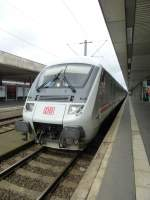 A IC-control car is standing in Hannover main station on August 19th 2013.