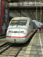 A ICE-2 is standing in Cologne main station on August 21st 2013.