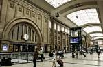 Central Station in Leipzig.