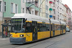 BVG 2038,  Manufacturer: Bombardier,  Class: GT6Z 99,  Year of construction: 2002,  Construction number: A= 22797, B= 22798, C= 22799,   Pic taken: 2017-03-08