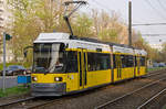 BVG 2011,   Manufacturer: ADtranz,   Class: GT6Z 98,   Construction number: A=22716, B= 22717, C= 22718,   Year of construction: 2000,   modified GTZO98 in 2016, new operators designation: BVG 2211,