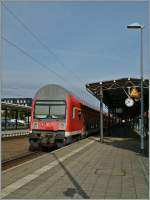 A Control-Car of the S-Bahn Rostock in Warnemünde.