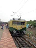 EMU 12240 at Chetpet on 26th July 2013