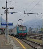 The FS E 464 321 in Domodossola.