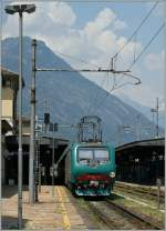 The FS 464 446 in Domodossola.