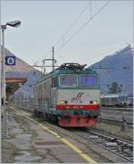 The FS Trenitalia E 652 110 in Domodossola.
