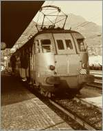 An Ale 660 in the South-Tirol Main Station of Bozen/Bolzano.