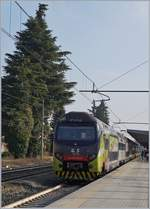 A Trenord Ale 711 in Gallarate.