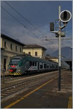Two Trenord ETR 425 in Domodossola.