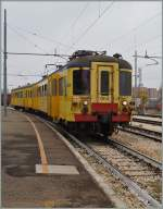 The ALe 228 064 (ex SNCB AM) in Modena.