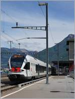 A Trennord ETR 524 in Cadenazzo.
