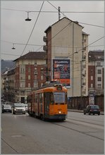 The Tram 2875 by the Porta Nuova Station.