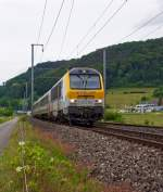 The CFL 3005 with the delayed IR 111 Liers - Luxembourgon at 15.06.2013 by Lintgen.