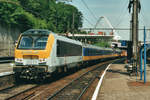 With Int.1138 'ARDENNEN EXPRES' CFL 3011 leaves Liége-Guillemins for Luxembourg on 5 August 1997.