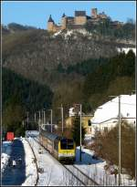 The IR 113 Liers - Luxembourg City is running through Michelau on January 2nd, 2011.