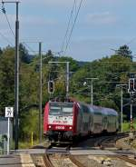 . The IR 3739 Troisvierges - Luxembourg City is arriving in Wilwerwiltz on September 23rd, 2014.
