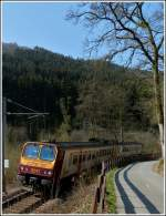 Z 2017 is running between Merkholtz and Kautenbach on April 3rd, 2012.