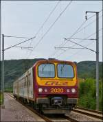 Z 2020 pictured in Erpeldange/Ettelbrück on August 24th, 2012.