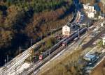 . Overview on the station of Kautenbach on February 4th, 2015.