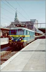 The SNCB 2323 in Luxembourg. 