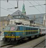 2001 is leaving the station of Luxembourg City on Aril 25th, 2009.