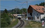 A GoldenPass Panoramic train by Les Plachens.
