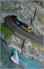 T Gauge BR HST 125 on the coast.