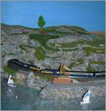 T Gauge BR-HST in a coast Scenery.