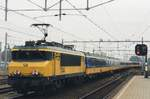 NS 1744 pushes a service to Zwolle out of 's Hertogenbosch.