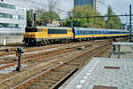 NS 1774 hauls a Haarlem-bound IC into Utrecht Centraal on 4 August 2000.