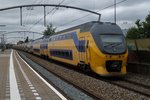 NS 8641 speeds through Zwijndrecht on 16 July 2016.