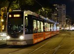 Rotterdam Tram 2114 photographed on 09/09/15