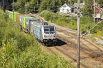 Railpool Bombardier 187 40-0 on the Bergen-Also Railwayline at Bolstadøyri station. date: 10 July 2018.