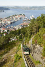The Fløibanen is a funicular railway in the Norwegian city of Bergen.