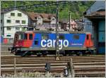 The SBB Cargo Re 420 346-9 taken in Erstfeld on May 24th, 2012.